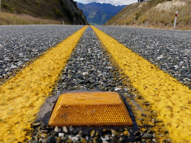 pavement reflector installation services